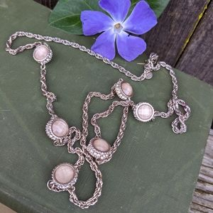 LOFT Rhinestone Necklace